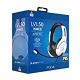 PDP LVL50-Headset mit Kabel für Sony PlayStation 4&5 In Weiß [