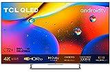 TCL 55C727 4K QLED Gaming Fernseher 55 Zoll Smart TV (Quantom Dot, 100% Farbvolumen, 100Hz MEMC, Android 11, HDMI 2.1, Game Master Pro, Dolby Vision IQ & Atmos, ONKYO, Google Duo, Alexa) [2021]