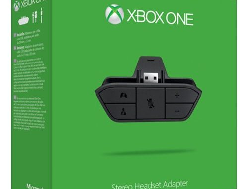Xbox One Headset Adapter Bild