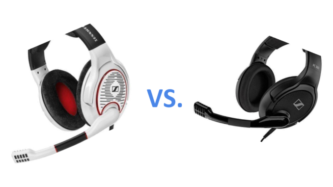 Sennheiser Game one vs. PC 360