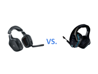 Logitech G930 vs. Logitech G933