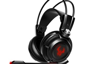 EasyAcc G1 Virtual 7.1 Surround-Sound Gaming Headset mit Vibrationsfunktion,USB für PC,PS4