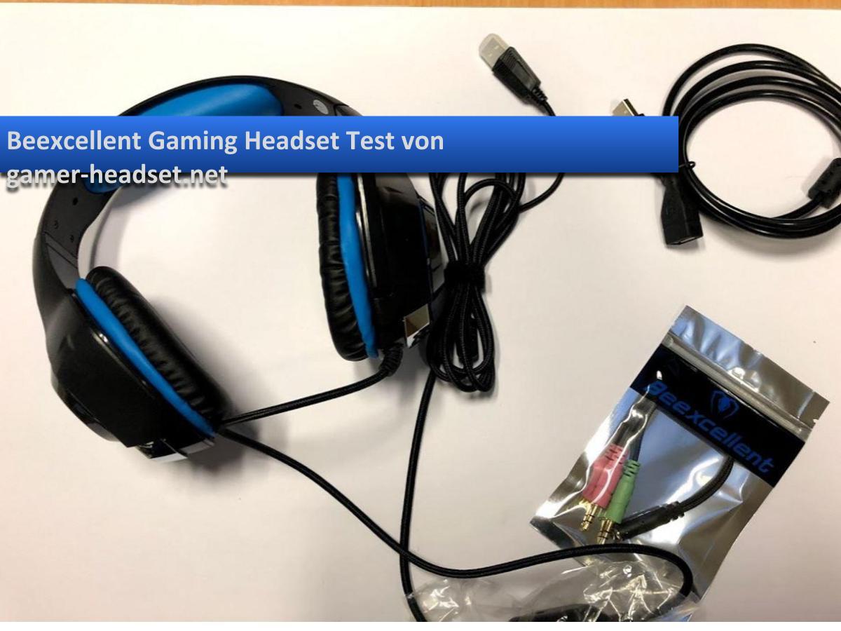 beexcellent gaming headset test f r gamer. Black Bedroom Furniture Sets. Home Design Ideas